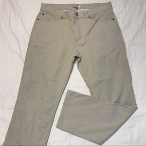 Peter Millar Soft Touch Twill Pants 35x29 Tag 36